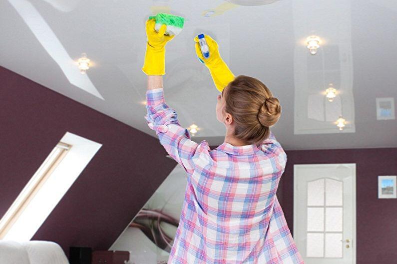 Классический белый потолок со светодиодной подсветкой мощностью 15 Вт